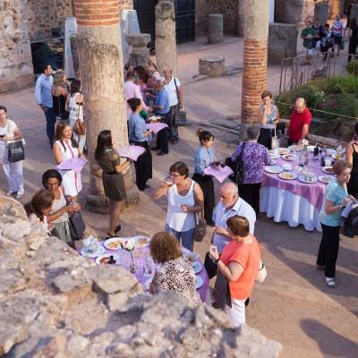 Catering antes del concierto de Raphael para espectador de Orchestra