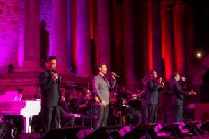 Mérida, 8/09/2018.- STONE&MUSIC FESTIVAL. Il Divo.- Foto/ Jero Morales. @jeromorales @jeromoralesfoto