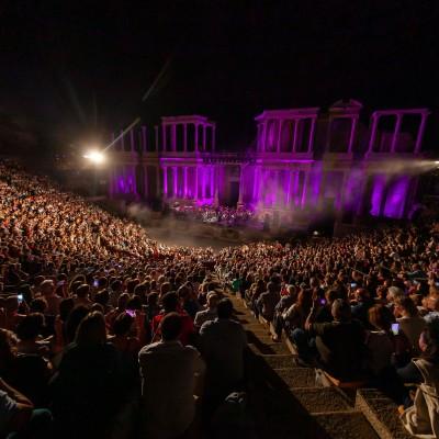 Mérida 29/09/2019 Stone & Music Festival, Raphael. Foto/ Jero Morales
