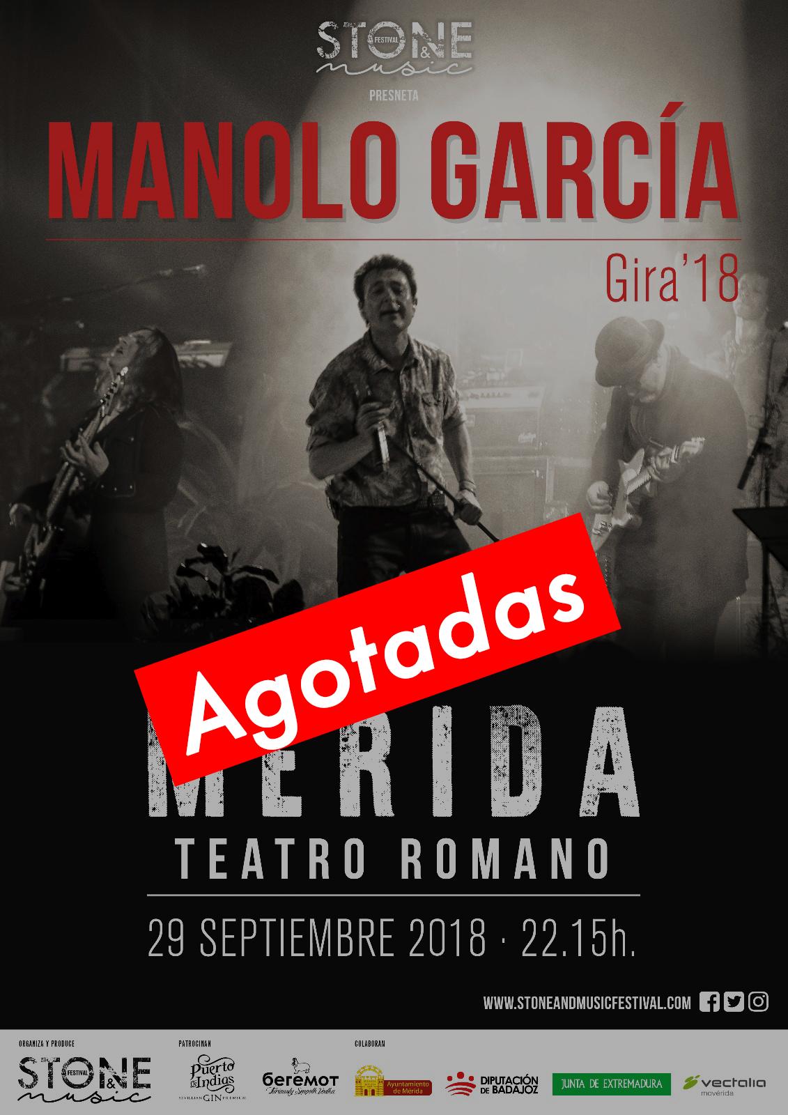 Manolo García agotado
