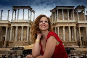 PASTORA SOLER en el Teatro Romano