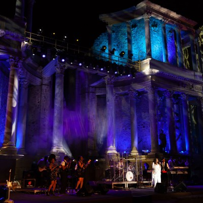 Mérisa, 31/08/2019 Stone and Music Festival 2019 .- GLORIA GAYNOR. Foto/ Jero Morales