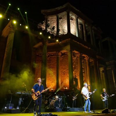 Mérida 30/08/2019. Stoneandmusicfestival, Hombres G .Teatro Romano de Mérida. Foto/ Jero Morales