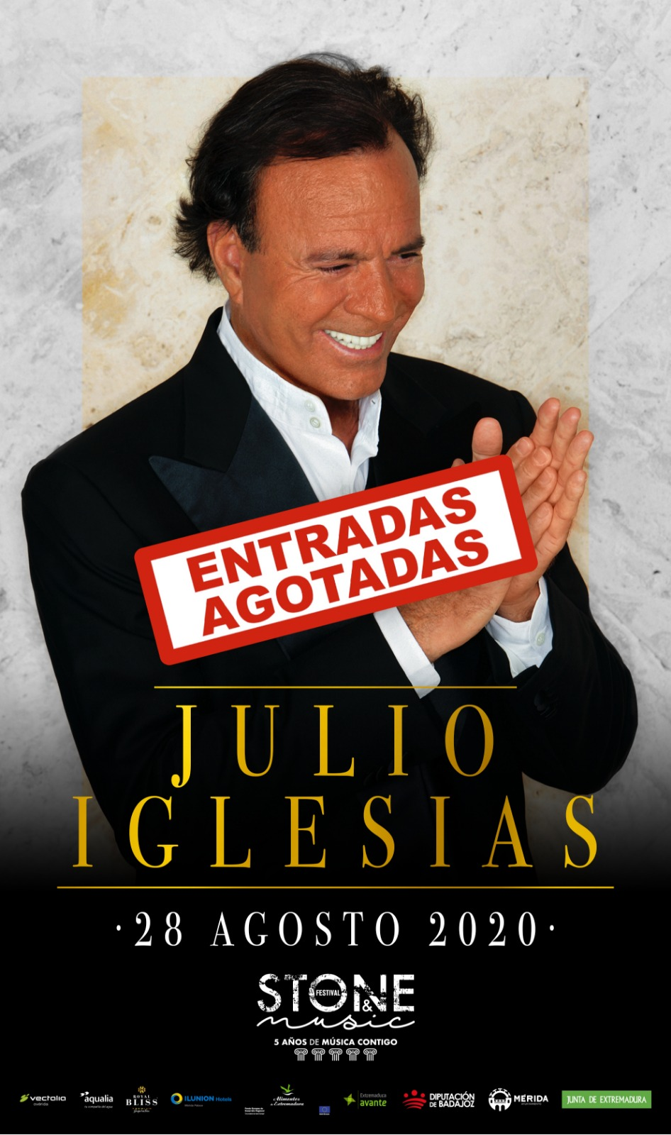 Sold out J. Iglesias
