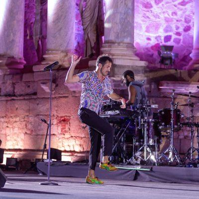 STONE&MUSIC FESTIVAL 29/08/2021.- Teatro Romano de Mérida. Vetusta Morla. Foto/ Jero Morales