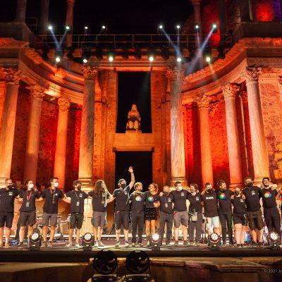STONE&MUSIC FESTIVAL 03/09/2021.- Teatro Romano de Mérida. Amaral. Foto/ Jero Morales