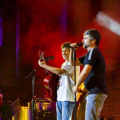 STONE&MUSIC FESTIVAL 08/09/2021.- Teatro Romano de Mérida. Estopa . Foto/ Jero Morales