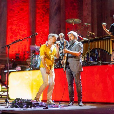STONE&MUSIC FESTIVAL 04/09/2021.- Teatro Romano de Mérida. Love of lesbian . Foto/ Jero Morales