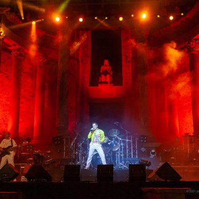 STONE&MUSIC FESTIVAL 24/09/2021.- God Save The Queen en el Teatro Romano de Mérida en el marco del Stone Music. foto/ Jero Morales
