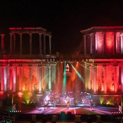 STONE&MUSIC FESTIVAL 26/09/2021.- ROBE Romano de Mérida en el marco del Stone Music. foto/ Jero Morales
